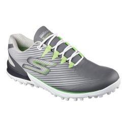 Men's Skechers GO GOLF Bionic 2 Lace Up Charcoal/Green