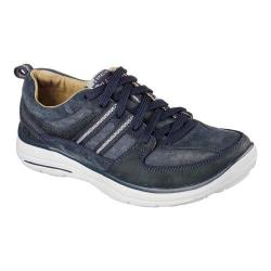Men's Skechers Relaxed Fit Glides Soman Lace Up Navy