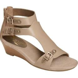 Women's Aerosoles Yet Another Taupe Combo Faux Leather