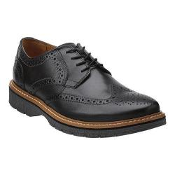 Men's Clarks Newkirk Wing Black Leather