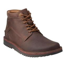 Men's Clarks Remsen Hi Boot Brown Leather