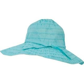 Girls' San Diego Hat Company Floppy RBK3078 Seafoam