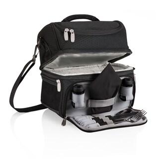 Picnic Time Pranzo Personal Cooler Black/Grey/Silver