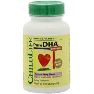 ChildLife Pure DHA Soft Gel Capsules 90 Count