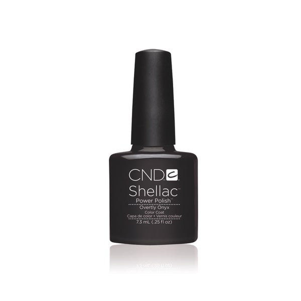 CND Shellac Overtly Onyx 0.25-ounce Nail Polish