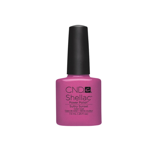 CND Shellac Sultry Sunset 0.25-ounce Nail Polish