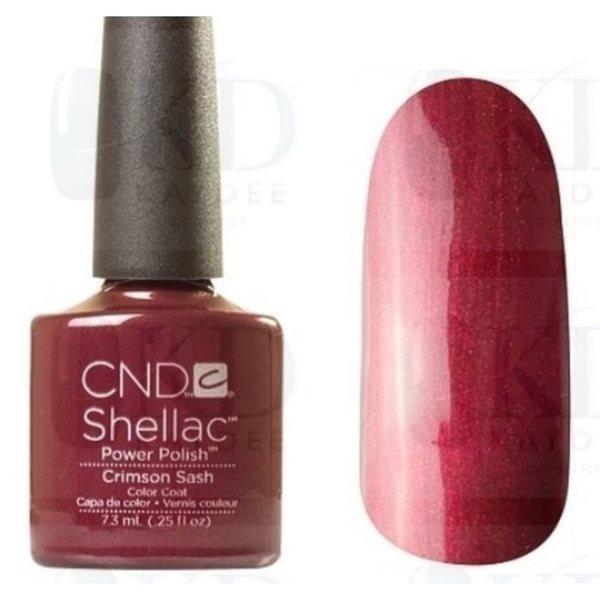 Crimson Nail Polish: CND Vinylux Crimson Sash 0.5-ounce Nail Polish