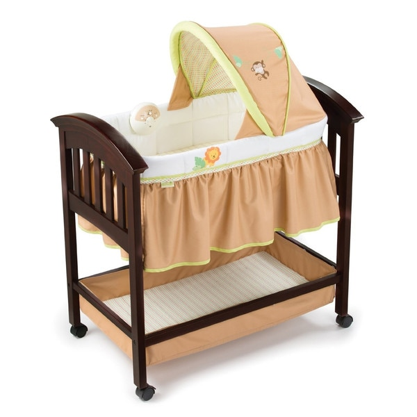 Summer Infant Swingin' Safari Classic Comfort Wood Bassinet