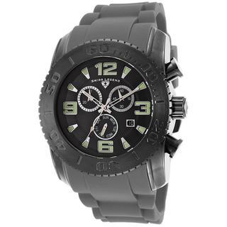 Swiss Legend Men's SL-10067-GM-01-GRYS Commander Black Watch