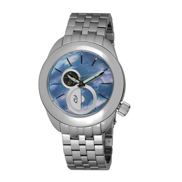 ANDROID Men's 'MicroRotor 50 Open Heart Automatic' Blue Watch