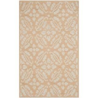 Safavieh Hand-hooked Chelsea Gold Wool Rug (2'6 x 4')