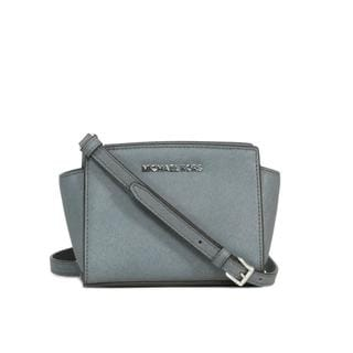 MICHAEL Michael Kors Heather Grey Selma Mini Messenger