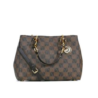 MICHAEL Michael Kors Signature Checkerboard Cynthia Medium Satchel