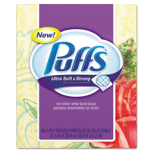 Puffs 56-sheet Facial Tissues Box (Pack of 24)