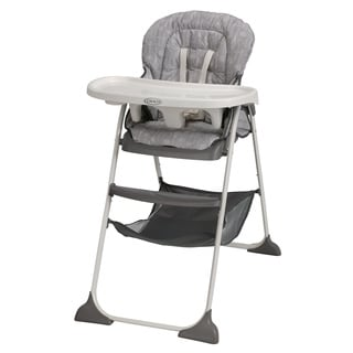 Graco Slim Snacker Highchair in Whisk