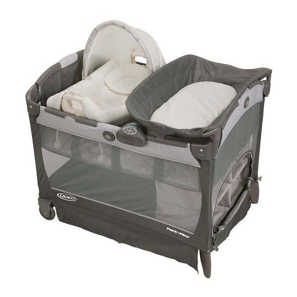 Graco Pack 'n Play with Cuddle Cove Removable Seat in Glacier 14602753