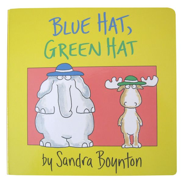 Simon & Schuster Blue Hat, Green Hat by Sandra Boynton