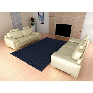 Somette Signature Navy Area Rug (12' x 12')