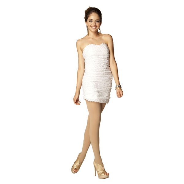 Sara Boo White Sequin Party Dress