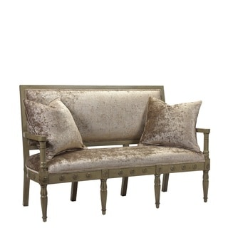French Heritage Napolean Settee