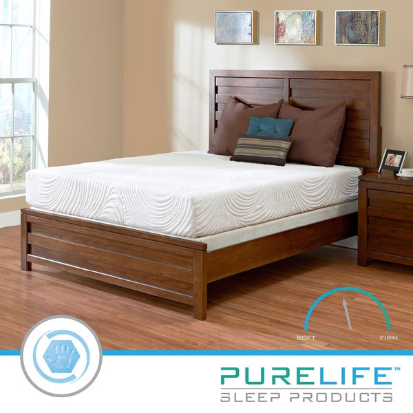 Purelife Inspire PureGel Plus Gel 10-inch Full-size Gel Memory Foam Mattress