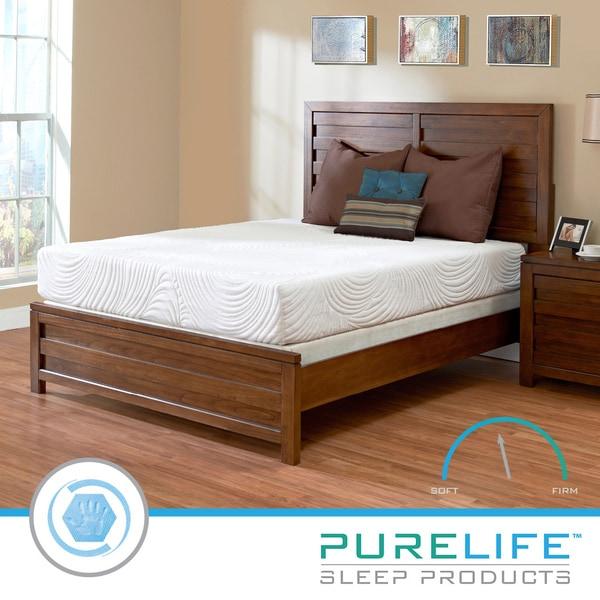 Purelife Inspire PureGel Plus 10-inch King-size Gel Memory Foam Mattress