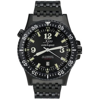 Xezo for Unite4:good Air Mens Limited-Edition Automatic Pilots Watch