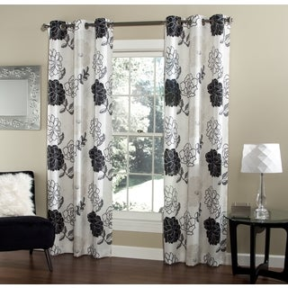 Summer Garden 84-inch Curtain Panel Pair