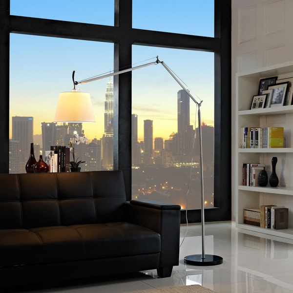 Reflect Aluminum Floor Lamp