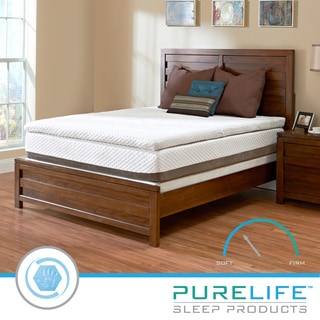 Purelife Accord PureGel Plus 12-inch California King Gel Memory Foam Mattress