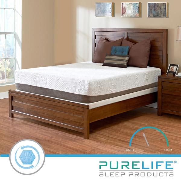 Purelife Apex PureGel Plus 12-inch Queen-Size Gel Memory Foam Mattress