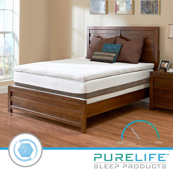 Purelife Accord PureGel Plus 12-inch Queen-size Gel Memory Foam Mattress