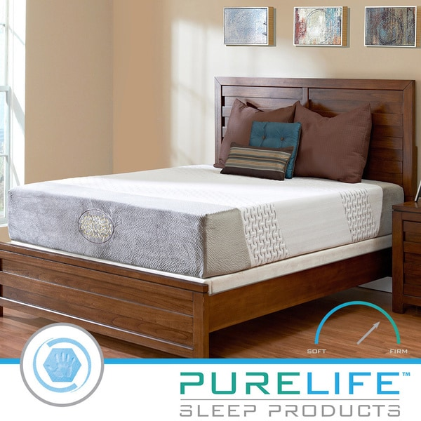 Purelife Harmony Hybrid 12-inch Queen-size Gel Memory Foam Mattress