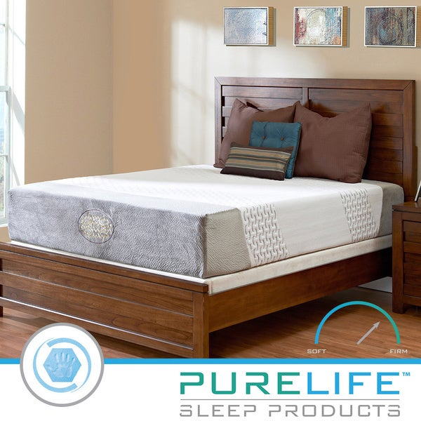 Purelife Harmony Hybrid 12-inch King-size Gel Memory Foam Mattress