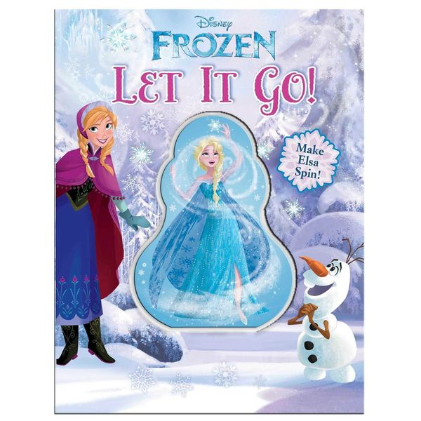 Simon & Schuster Disney Frozen Let It Go Book 14603612