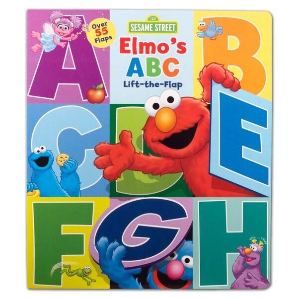 Simon Amp Schuster Sesame Street Elmos Abc By Sesame Street