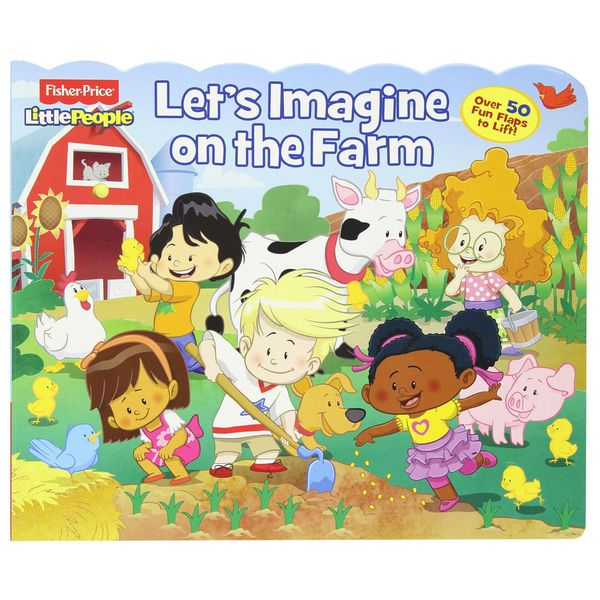 Simon & Schuster Fisher Price Little People Let's Imagine on the Farm Book 14603615