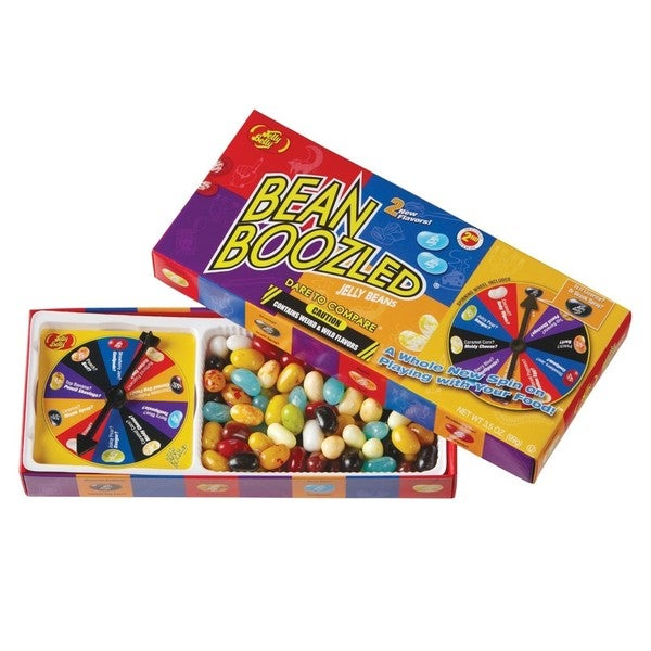 Jelly Belly BeanBoozled Jelly Beans 3.5 ounce Spinner Gift Box