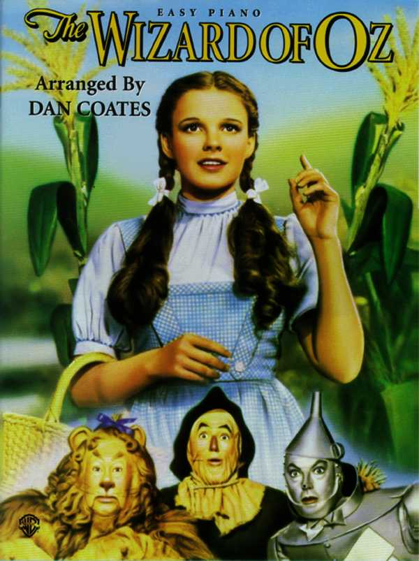 The Wizard of Oz: Easy Piano (Paperback)