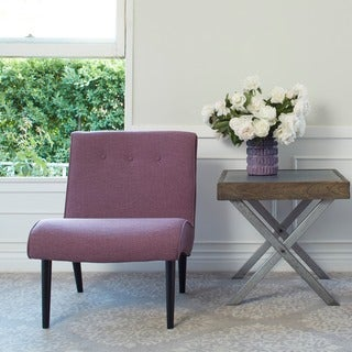 angelo:HOME Finley Lavender Field Linen Armless Chair