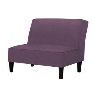 angelo:HOME Jules Lavender Field Linen Armless Settee