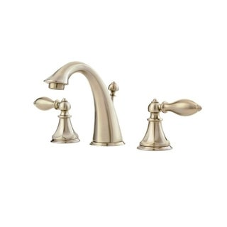 Pfister Catalina Double-handle Brushed Nickel Bathroom Faucet