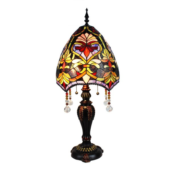 Tiffany-style Christabel Table Lamp
