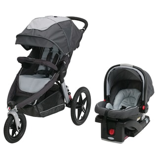 Graco Relay Performance Jogger Travel System in Glacier