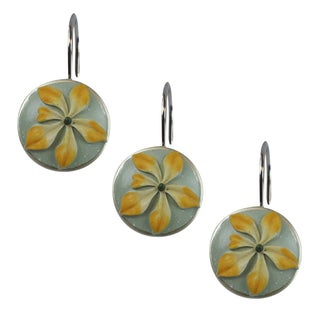 Sherry Kline Villa Flora Shower Curtain Hooks (Set of 12)