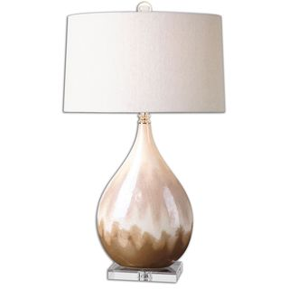 Uttermost Flavvian Glazed Ceramic Lamp