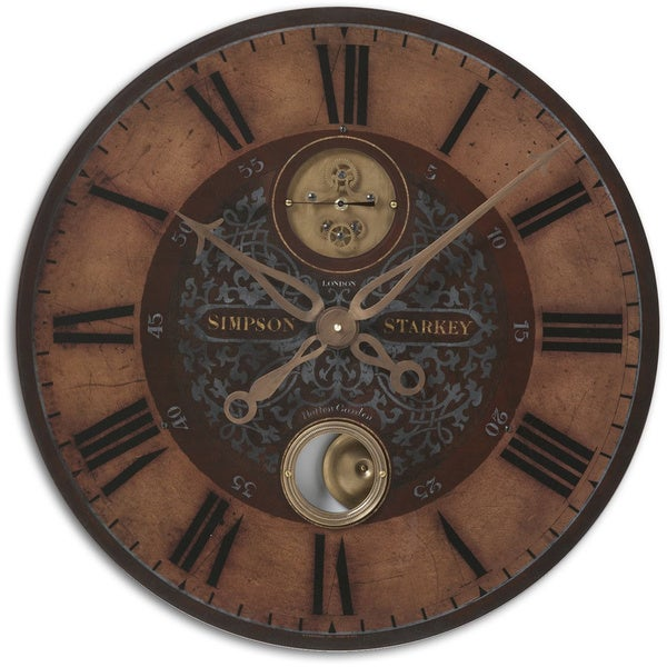 Uttermost 23 Inch Starkey Wall Clock