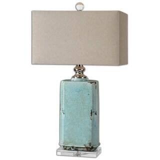 Uttermost Adalbern Teal Table Lamp