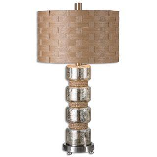 Uttermost Cerreto 1-light Mercury Glass Table Lamp