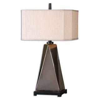 Ceppaloni 1-light Metallic Bronze Table Lamp